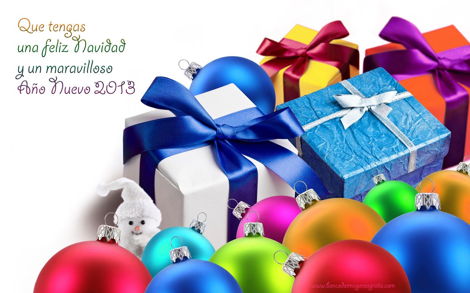 Fondos y wallpapers para navidad y a o nuevo 2013 mensajes - Mensajes para navidad y ano nuevo ...